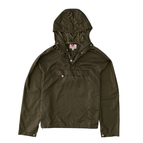 Ace Hotel Exclusive Packable Anorak, Olive Ripstop