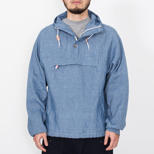 Packable Anorak, Light Indigo