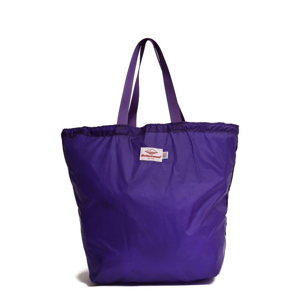 Oi Polloi Exclusive Packable Tote, Purple/Purple