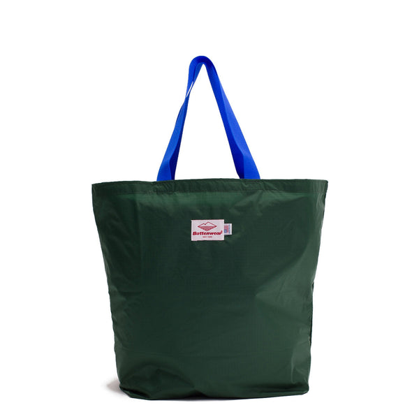 Packable Tote, Forest Green/Royal