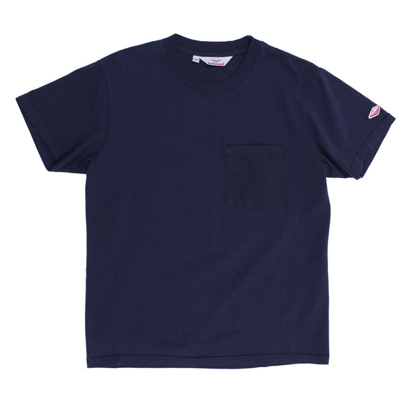 Pocket Tee, Dark Navy