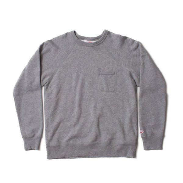 Reach-Up Sweatshirt, Heather Grey