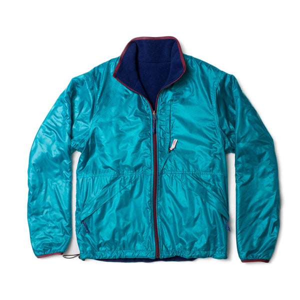 Reversible Camper Jacket, Teal/Navy