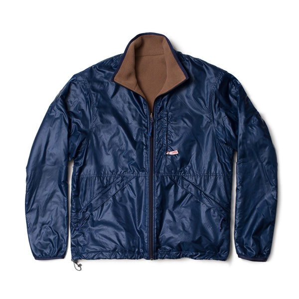 Reversible Camper Jacket, Navy/Camel