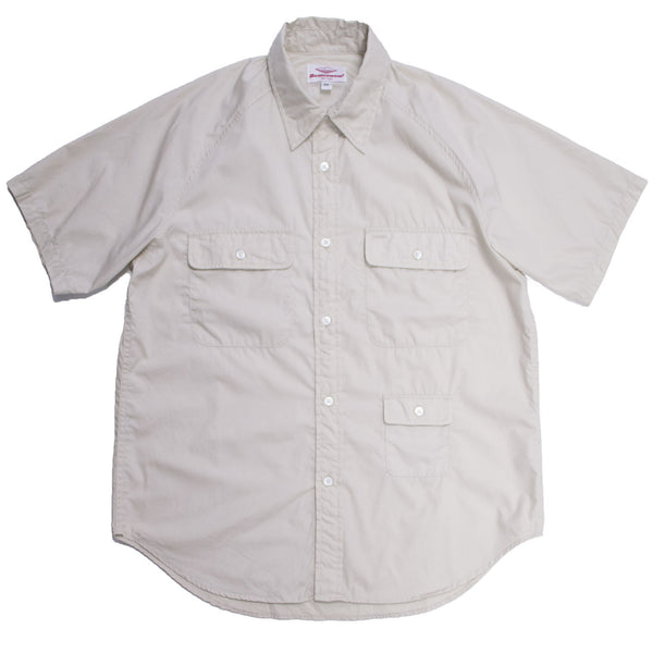 S/S Camp Shirt, Beige