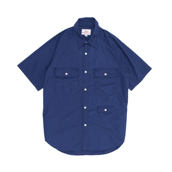 S/S Camp Shirt, Navy