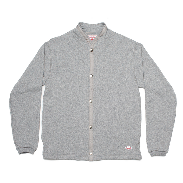 Sweat Cardigan, Heather Grey