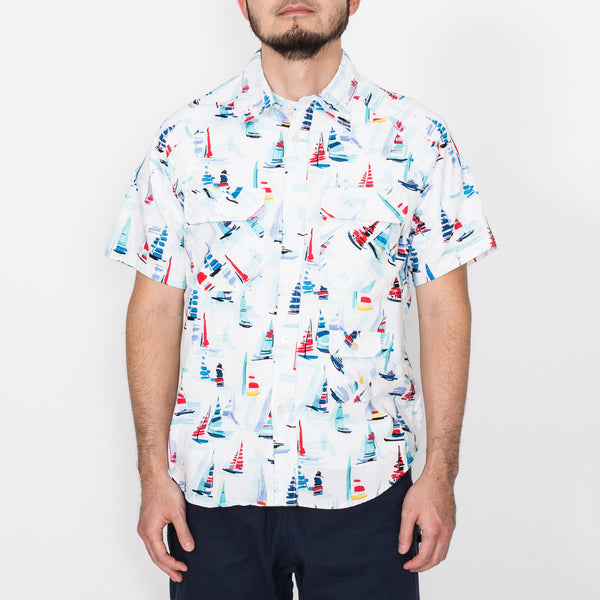 S/S Camp Shirt, Regatta