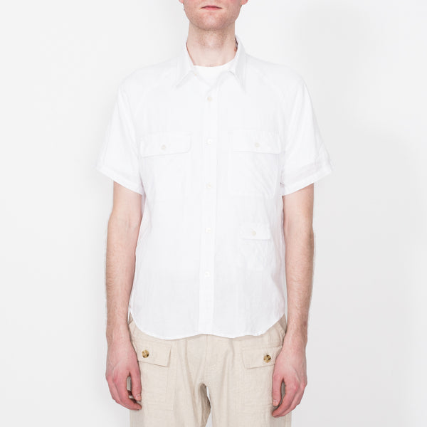 S/S Camp Shirt, White