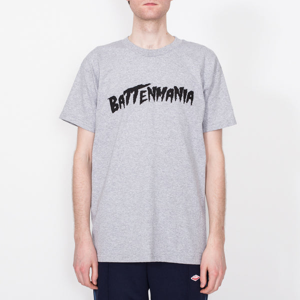Battenmania Tee, Heather Grey