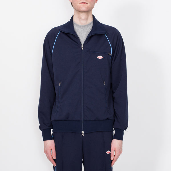Track Jacket, Navy/Sky Blue