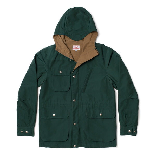 Travel Shell Parka, Forest Green