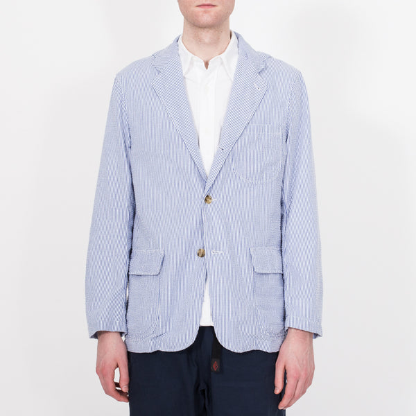 Travel Blazer, Blue Stripe