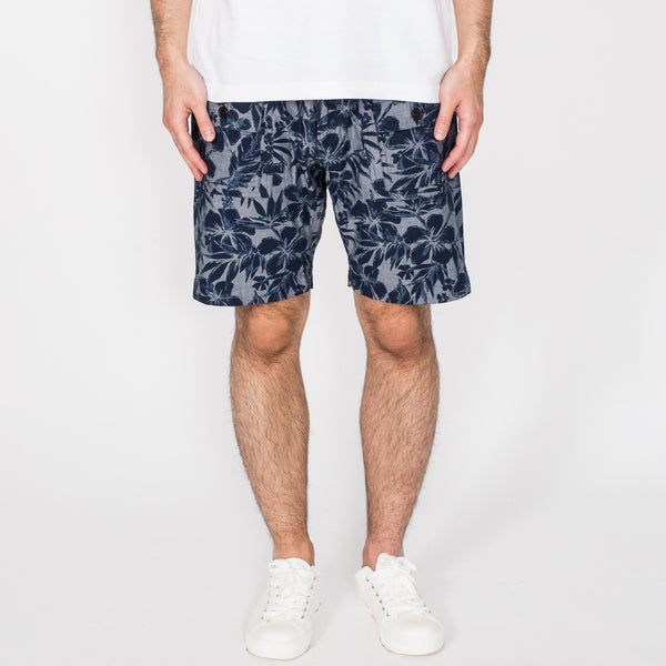 Trek Shorts, Tropical Print