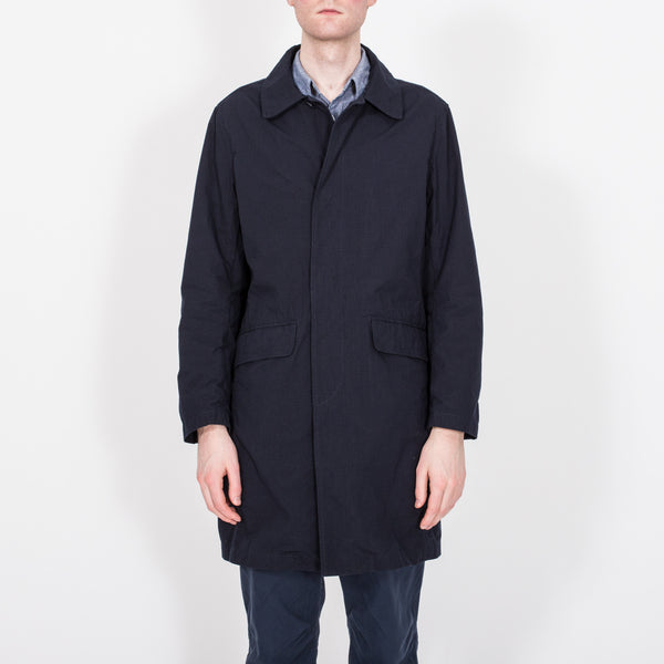 Wanderer Coat, Dark Navy