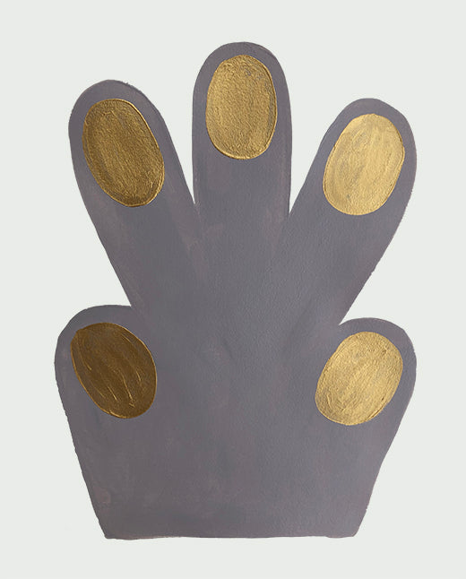 Small Hand / Paw, mouse grey