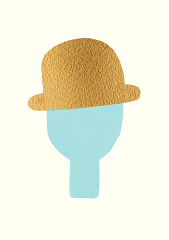 A3 Man With Golden Hat, Mint