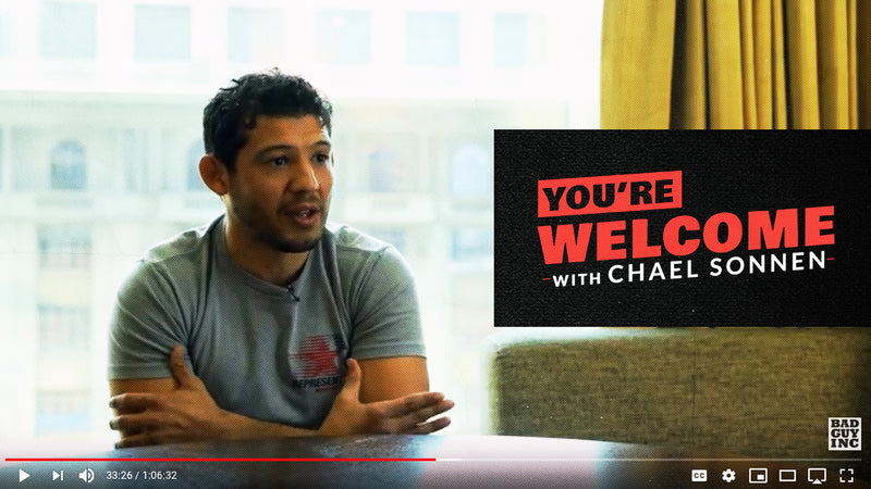 Gilbert Melendez on You're Welcome Podcast with Chael Sonnen