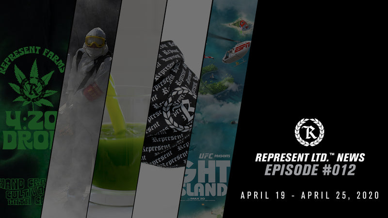 Represent Ltd.™ NEWS | Episode #012 [April 19 - April 25, 2020]