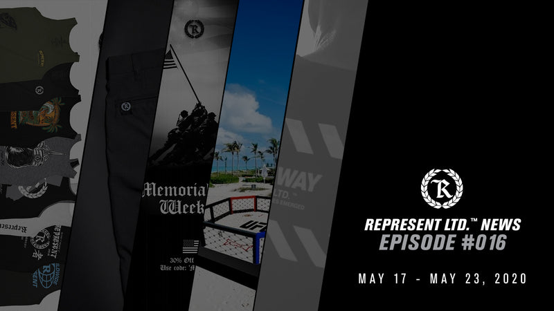 Represent Ltd.™ NEWS | Episode #016 [May 17 - May 23, 2020]