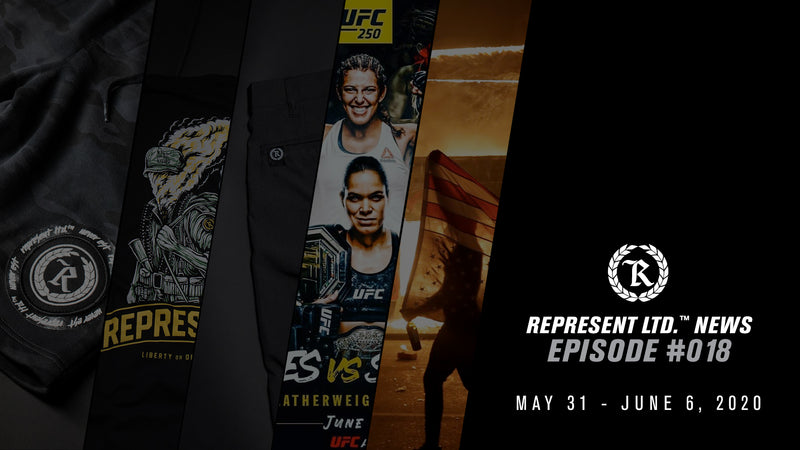 Represent Ltd.™ NEWS | Episode #018 [May 31 - June 6, 2020]