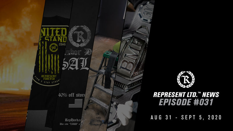 Represent Ltd.™ NEWS #031 | August 31 - September 5, 2020