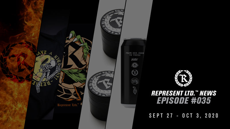 Represent Ltd.™ NEWS #035 | September 27 - October 3, 2020