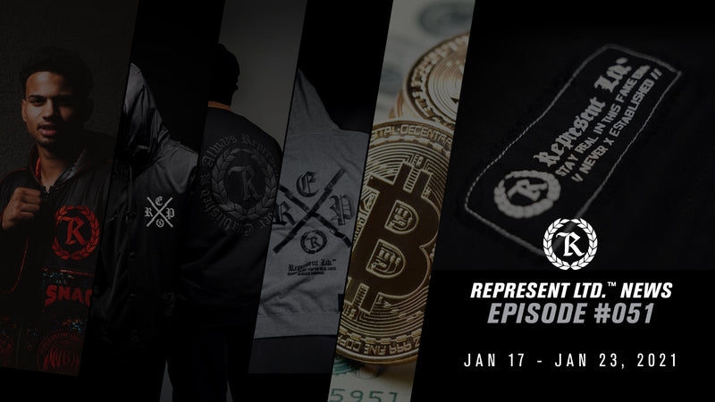 Represent Ltd.™ NEWS #051 | January 17 - January 23, 2021