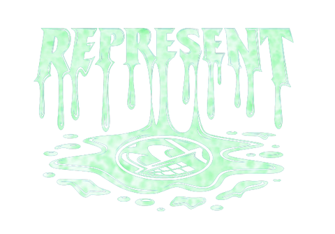 Represent Ltd. X Zac Dynes Drip Halloween Glow In The Dark Edition