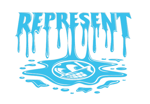 Represent Ltd. X Zac Dynes Drip Collaboration Artwork