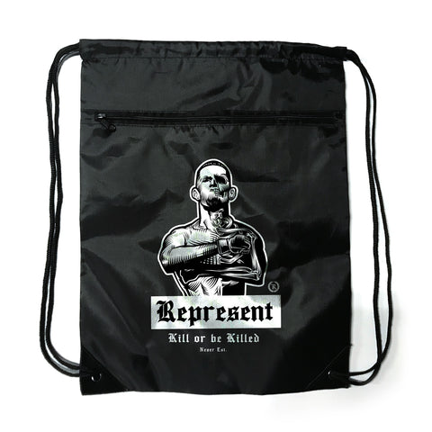 Nate Diaz 'Real Skin-to-Bone' Drawstring Backpack