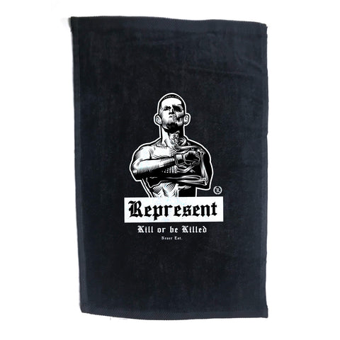 Nate Diaz 'Real Skin-to-Bone' Towel