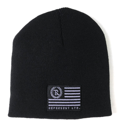 Flag Beanie Embroidered