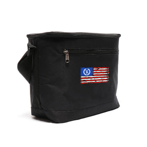 This is AMERICA 12-Pack Lunch Cooler [BLACK] LIMITED EDITION