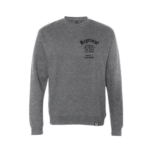 Local X Worldwide Raglan Crewneck Sweatshirt [HEATHERED GRAY]