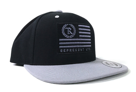 Flag Snapback [Gray bill]