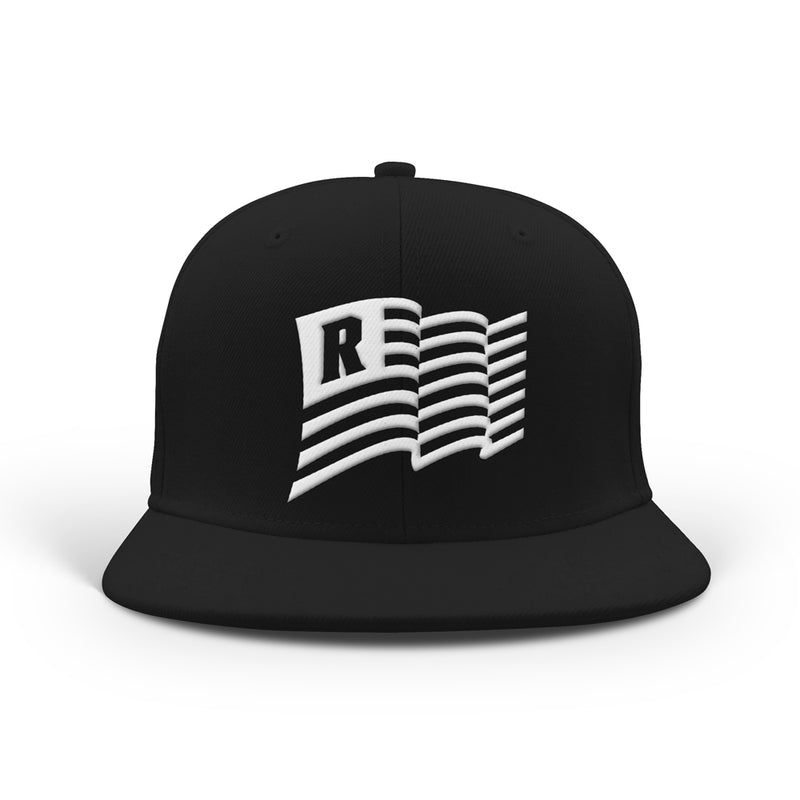 Real Ones Rep Flag Classic Snapback [BLACK]
