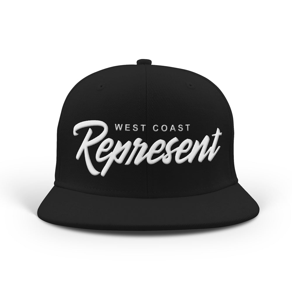 Tha West Coast Classic Snapback [BLACK]