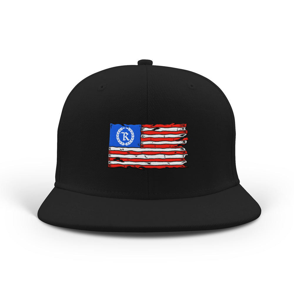 This is AMERICA Classic Snapback [BLACK] LIMITED EDITION
