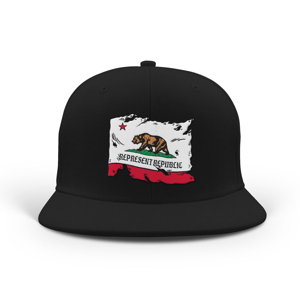 West Coast Republic Classic Snapback [BLACK] LIMITED EDITION