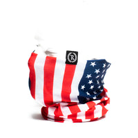 Stars & Stripes Gaiter Neck Covering & Face Mask [US FLAG]
