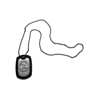 Freedom For All Steel Embossed Dog Tags  [SILVER] COLLECTOR'S EDITION