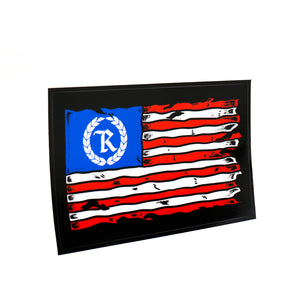 This is AMERICA Weatherproof Bumper Sticker [BLACK] LIMITED EDITION
