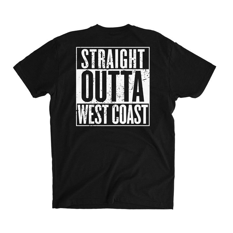 Straight Outta Tha West Coast Tee