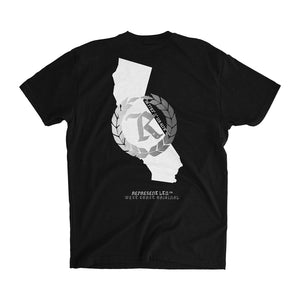 NEW West Coast Original Tee [BLACK] SILVER METALLIC EDITION