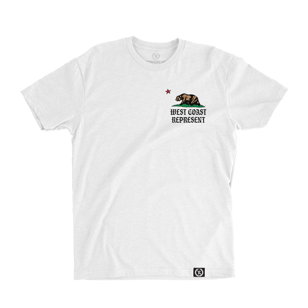 West Coast Republic Tee [WHITE] LIMITED EDITION