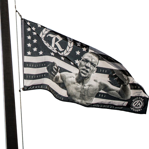 Nate Diaz Kill or be Killed Pole Flag