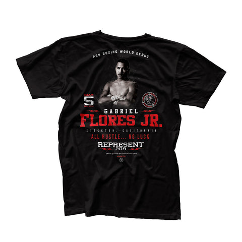 Gabriel Flores Jr. May 5th Official Fight Tee