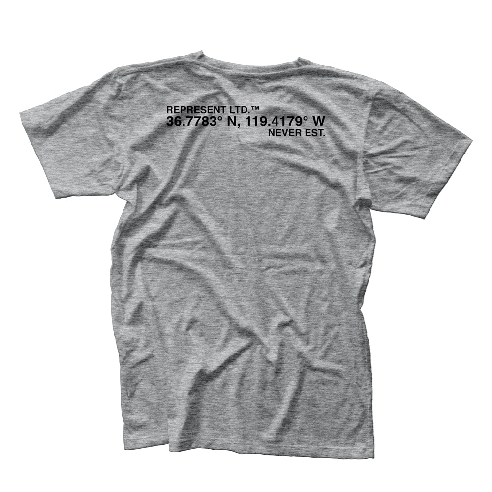 Lat X Long Tee [HEATHER GRAY]