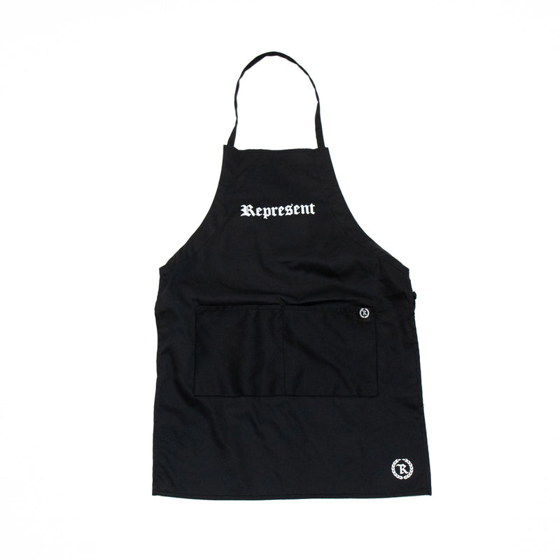 Original Classic BBQ Apron w/ Pockets [BLACK]